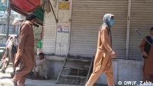 Afghanistan's Khost province during lock down. Copyright: DW correspondent Faridullah Zahir.