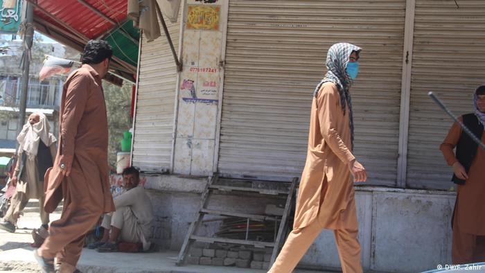 Afghanistan Coronavirus Lockdown Provinz Khost