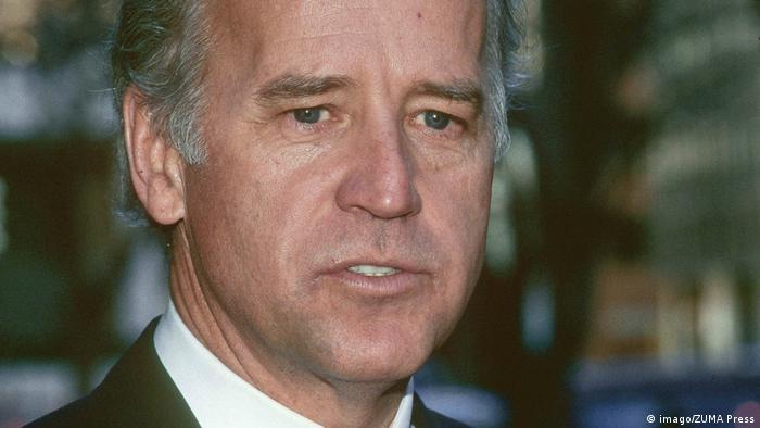 Ein Foto von Joe Biden aus dem Jahr 1997 (Foto: imago/ZUMA Press)