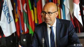 OSZE-Beauftragter für die Freiheit der Medien Harlem Desir