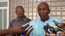 Idirça Djaló, leader of the Guinea-Bissau National Unity Party (PUN). Photo: Braima Darame / DW 1.5.2020