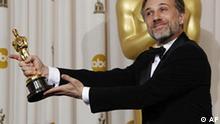 Oscarverleihung 2010 Christoph Waltz Bester Schauspieler Nebenrolle