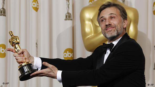 Christoph Waltz mit Oscar ( (AP Photo/Matt Sayles)