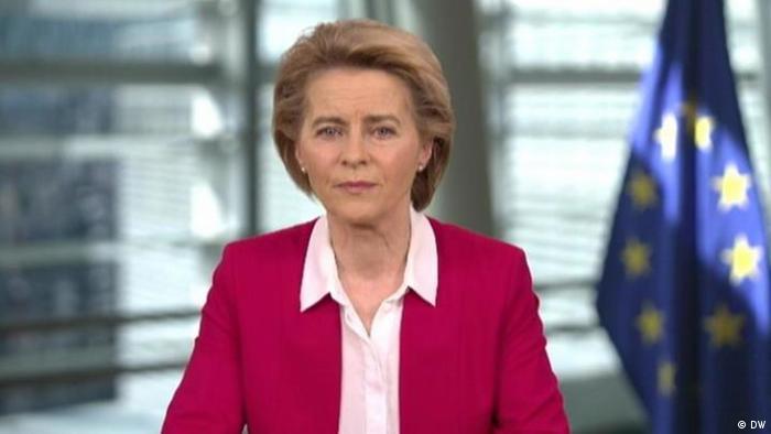 Голова Єврокомісії Урсула фон дер Ляєн