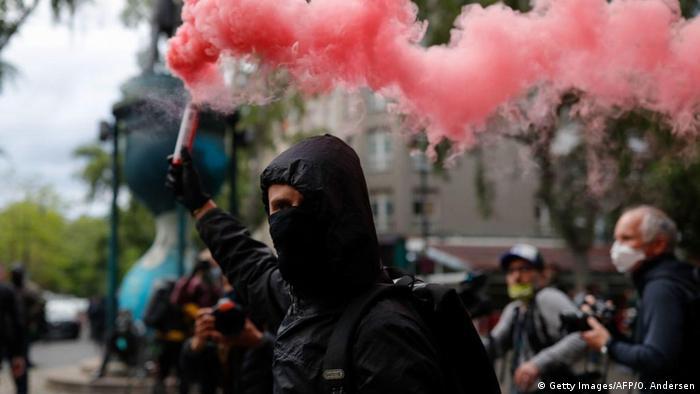Попри коронавірус, у Берліні відбулися традиційні вуличні акції з нагоди 1 травня