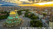 Bulgarien Sofia | Blick über die Stadt & Alexander-Newski-Kathedrale