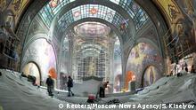 Russland Moskau | Bau Kathedrale für die Armee