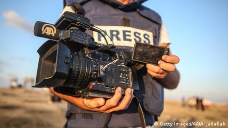 Pressefreiheit Symbolbild (Getty Images/AA/A. Jadallah)