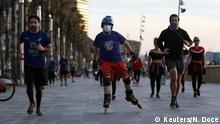 Spanien Barcelona | Coronavirus | Sport im Freien
