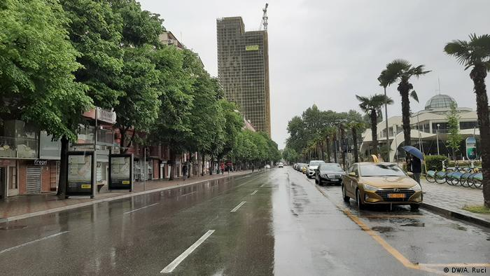 Albanien Corona-Pandemie Tirana