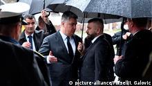Kroatien Okucani | 25. Jahrestag Operation Flash | Zoran Milanović, Präsident