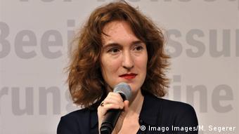 La escritora Nora Bossong.