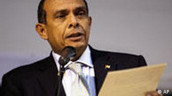 Honduras Präsident Porfirio Lobo