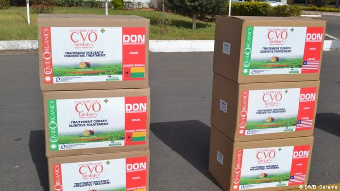 Guinea-Bissau has received several boxes of COVID-Organics