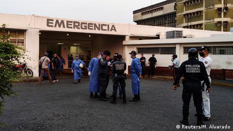 Venezuela Häftlinge im Krankenhaus nach Gefängnisaufstand