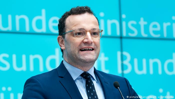 German Health Minister Jens Spahn (picture-alliance/dpa/B. v. Jutrczenka)
