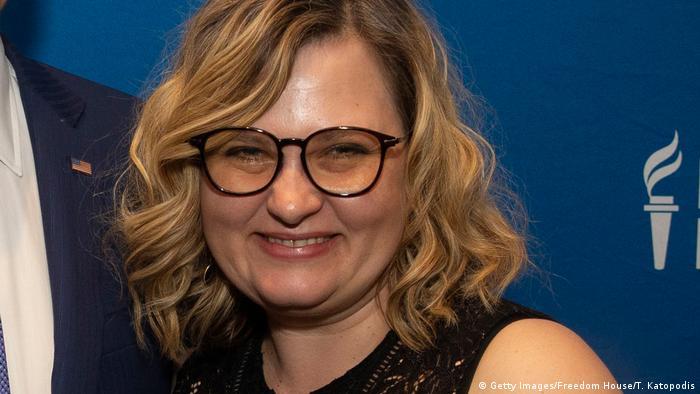 Журналистка Елена Милашина