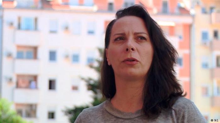 Serbien Ana Lalic, Journalistin bei nova.rs