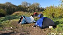 Frankreich Calais   Flüchtlingscamp