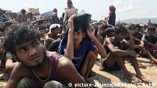 Myanmar Rohingya gehen nach wochenlanger Irrfahrt an Land