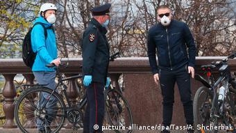 Проверка соблюдения карантина в Москве
