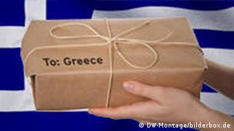 Symbolbild Finanzhilfe Finanzpaket Griechenland