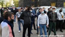 Ukraine Corona-Pandemie | Protest von Kleinunternehmern in Kiew