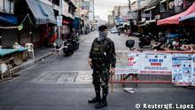 Philippinen Symbolbild Corona-Pandemie | Lockdown in Manila
