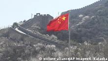 China Coronavirus Tourismus Große Mauer