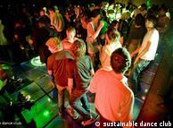 No Club  Watt, casa cliente produz, na pista de dança, até dez watts de energia