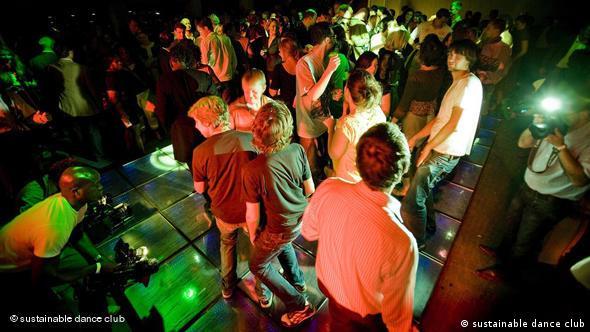 Jugendliche auf Tanzfläche (Quelle: SDC)