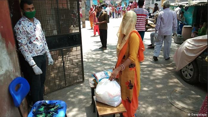 Indien | Corona Händehygiene in Slums (Deepalaya)