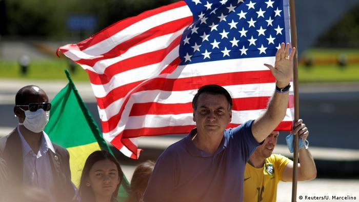 Brasilien Kundgebung Bolsonaro