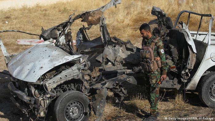 Irak Angriff des IS (Getty Images/AFP/A. Al-Rubaye)