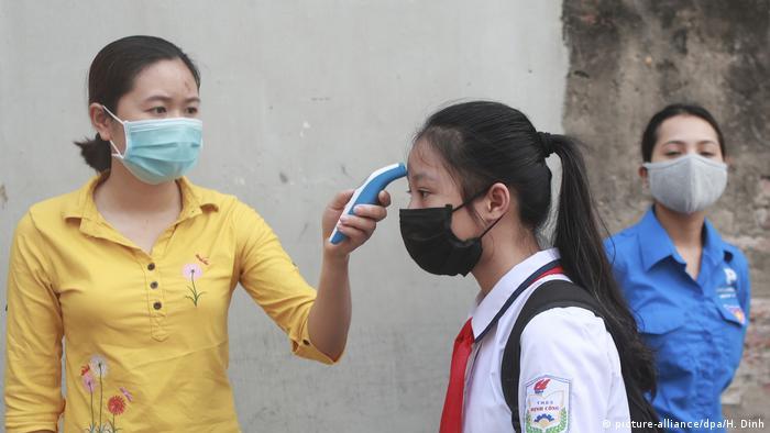 Vietnam öffnet die Schulen wieder (picture-alliance/dpa/H. Dinh)