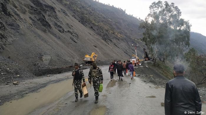 Kaschmir Erdrutsch
