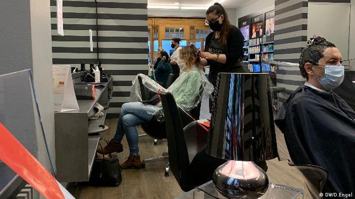 В одной из парикмахерских в Берлине