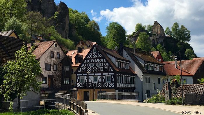 A village in Franconian Switzerland
