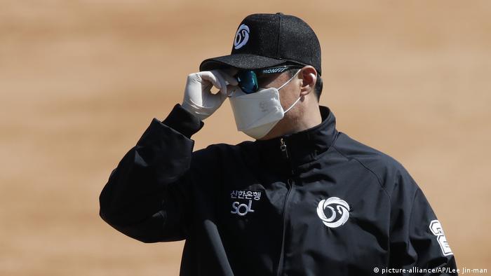 Corona | Sport in Südkorea (picture-alliance/AP/Lee Jin-man)