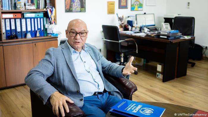 Керівник представництва Управління Верховного комісара ООН у справах біженців в Україні Пабло Матеу