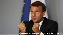 Coronavirus Impfstoffforschung Geberkonferenz Frankreich Präsident Macron