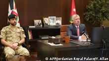 Coronavirus Impfstoffforschung Geberkonferenz Jordanien König Abdullah