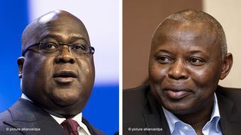 Bildkombo Felix Tshisekedi und Vital Kamerhe