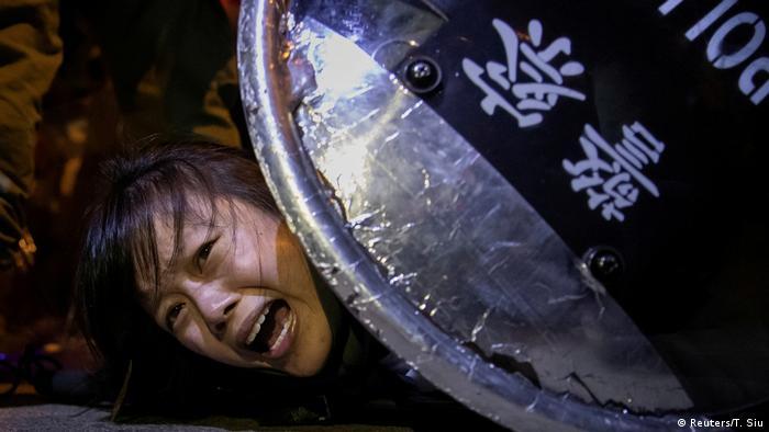 Hongkong Protest gegen das Auslieferungsgesetz (Reuters/T. Siu)