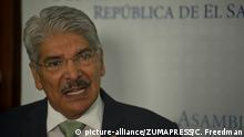 El Salvador Politiker Norman Quijano