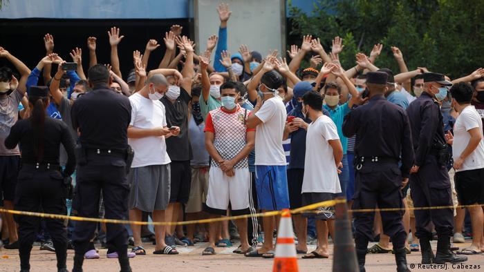 El Salvador Coronavirus Protest (Reuters/J. Cabezas)