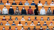 Südkorea Coronavirus Baseball Hanwha Eagles - SK Wyverns
