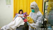 Bildergalerie Geburten während der Coronakrise