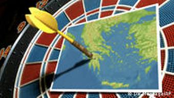 Symbolbild Griechenland im Visier der Spekulanten
