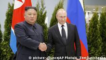 Kim Jong Un und Wladimir Putin